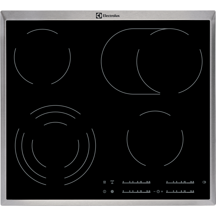 Electrolux EHF46547XK Sklokeramická deska