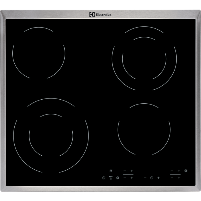 Electrolux EHF6342XOK Sklokeramická deska