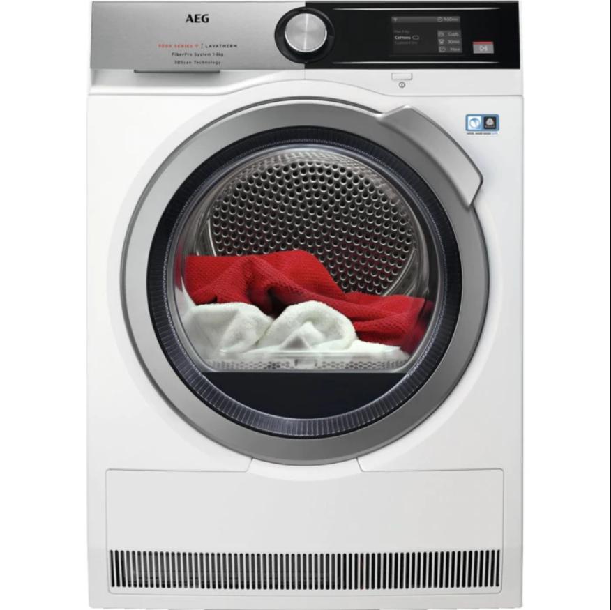 AEG FiberPro T9DBA68SC Sušička prádla