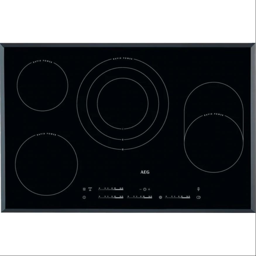 AEG Mastery HK854870FB Sklokeramická deska