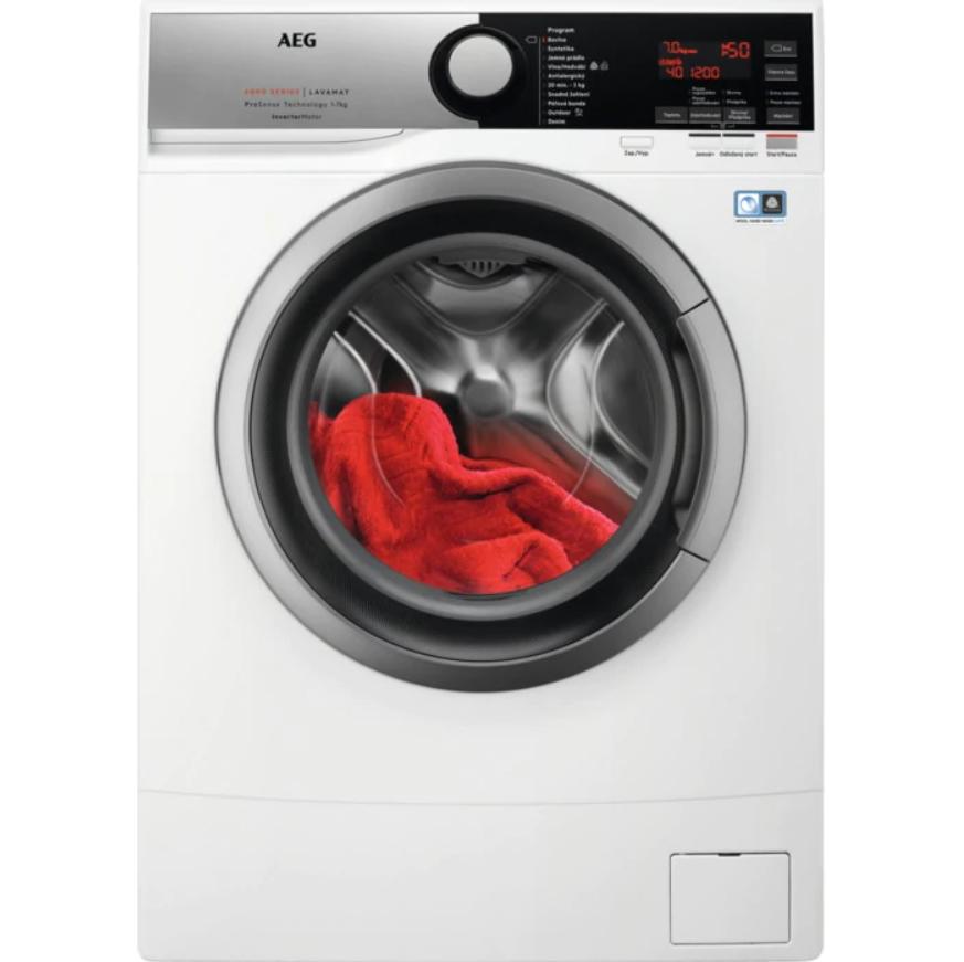 AEG ProSense™ L6SE47SCE Pračka předem plněná