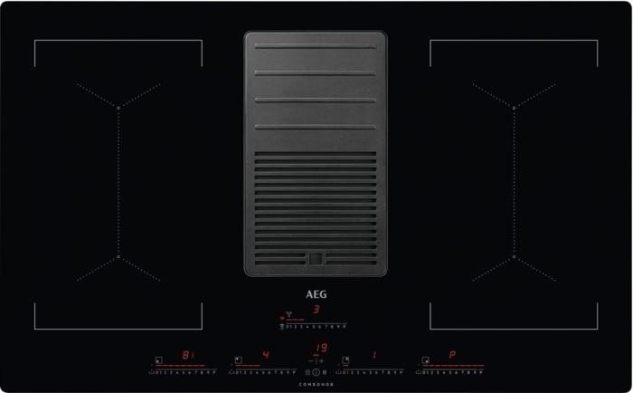 AEG Mastery IDK84453IB Indukční deska s odsavačem