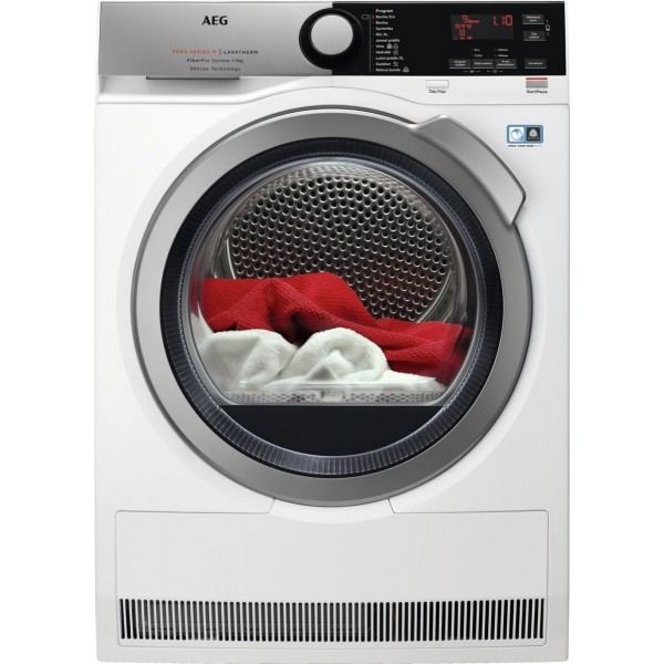 AEG FiberPro T9DBE69SC 3DScan Sušička prádla