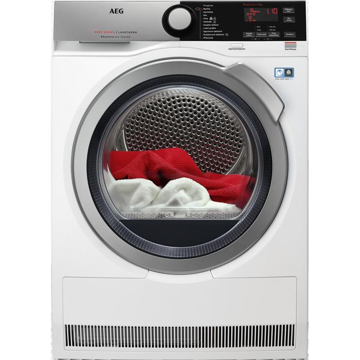 AEG AbsoluteCare T8DEE68SC Sušička prádla