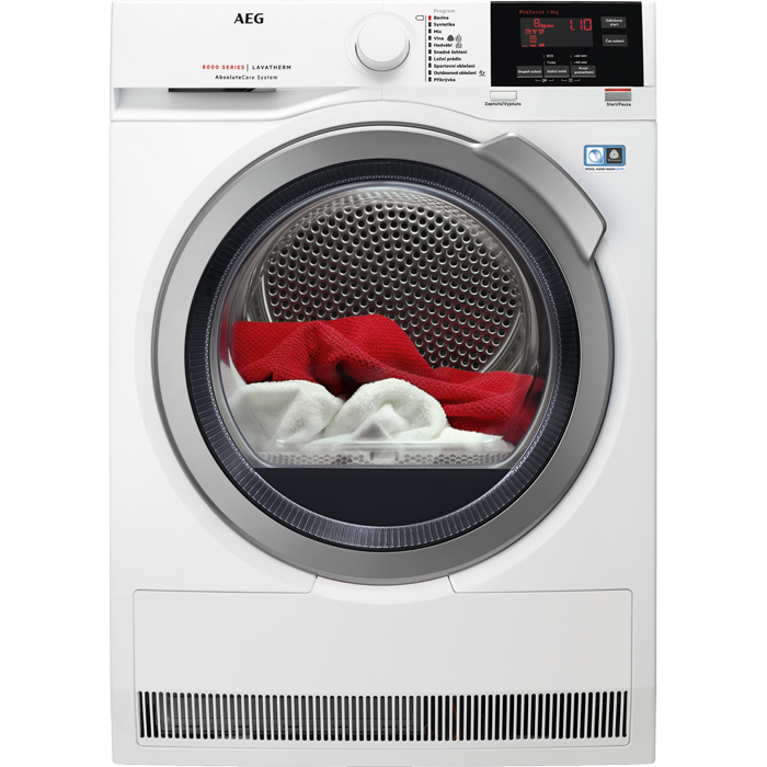 AEG AbsoluteCare T8DEG48SC Sušička prádla