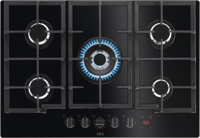 AEG Mastery FlameLight HKB75450NB Deska plynová
