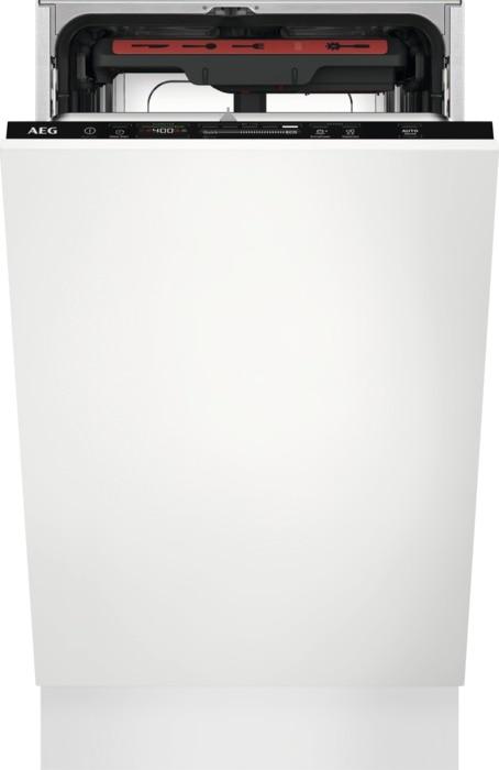 AEG Mastery MaxiFlex FSE72537P Vestavná myčka nádobí 45 cm