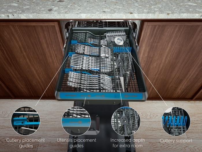 Electrolux 700 FLEX MaxiFlex EEM23100L Myčka nádobí - plně integrovaná 45 cm