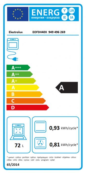 Set Electrolux EOF3H40X + EHF6241FOK