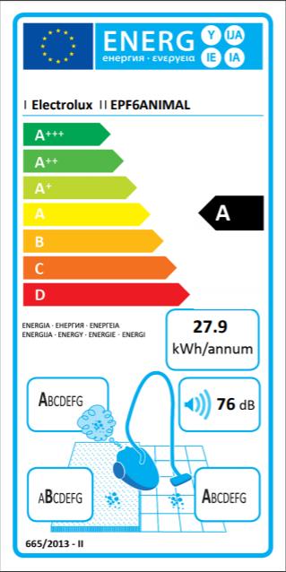 Electrolux EPF6ANIMAL Vysavač